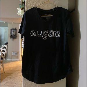 New Classic Black Awake Shirt